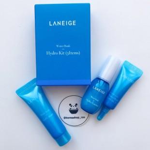 Laneige Water Bank Hydro/Набор из трех миниатюр