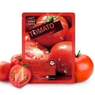 MAY ISLAND REAL ESSENCE MASK TOMATO - МАСКА ДЛЯ ЛИЦА