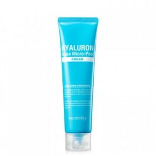 Secret Key Hyaluron Aqua Micro-Peel cream 70g - гиалуроновый крем