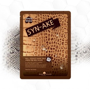 MAY ISLAND REAL ESSENCE MASK SNYKE - МАСКА ДЛЯ ЛИЦА