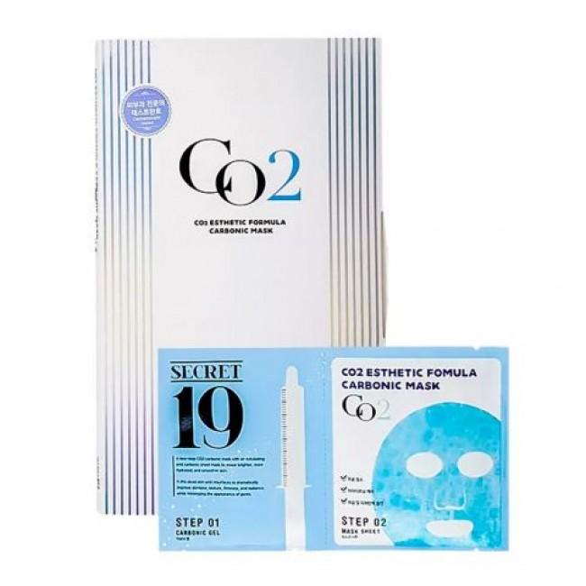 ESTHETIC HOUSE CO2 Esthetic Formula Carbonic Mask/Маска и гель-активатор для одноразовой карбокситерапии