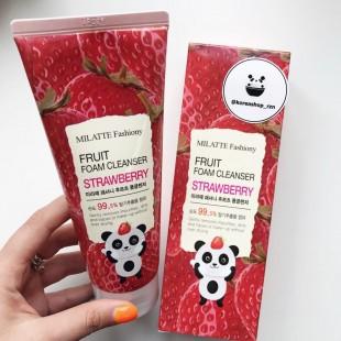MILATTE Fashiony Fruit Foam Cleanser/Фруктовая пенка для умывания