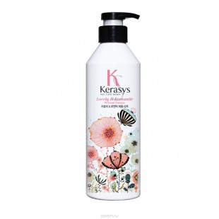 KERASYS Lovely & Romantic PERFUME SHAMPOO 180ml - Шампунь для поврежденных волос