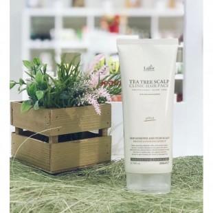 LA`DOR  Tea Tree Scalp Hair Pack/Маска-пилинг для кожи головы с чайным деревом  200 мл