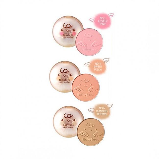 IT'S SKIN Babyface Petit Blusher/Нежные румяна для естественного макияжа
