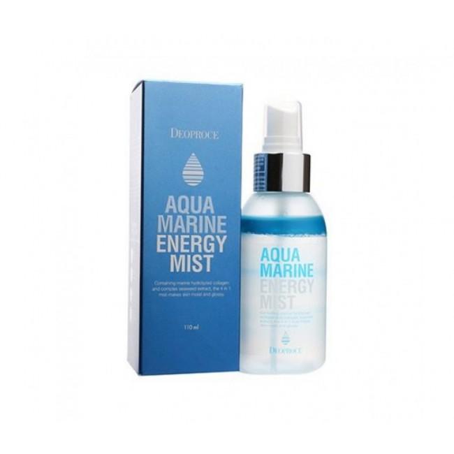 DEOPROCE Aqua Marine Energy Mist /Энергетический мист с морским коллагеном и водорослями110ml-