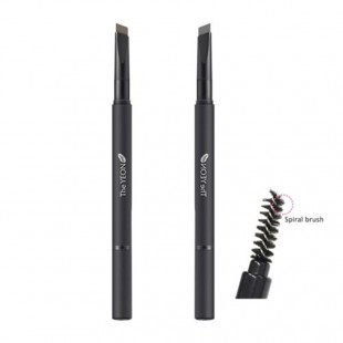 The YEON Natural Sketch Eyebrow Basic Pencil /Карандаш+щеточка для бровей