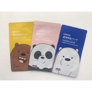 Miniso nose pack/Очищающие полоски для носа 1 шт