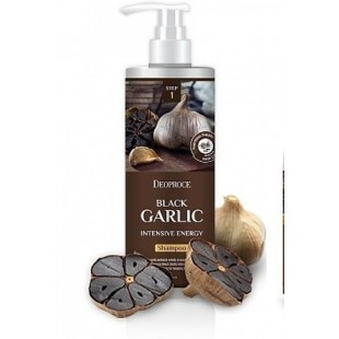 Deoproce Black Garlic Intensive Energy Shampoo/Шампунь на основе чеснока 1L