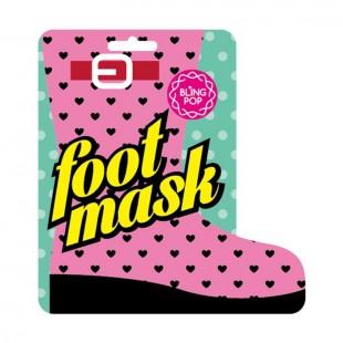 BLING POP Shea Butter Healing Foot Mask/Маска для ног с маслом ши 18 г.
