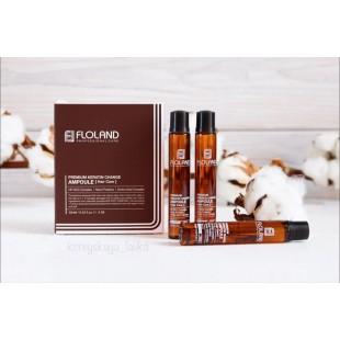Floland Premium Keratin Change Ampoule/Филлер для волос с кератином 13мл