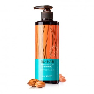 THE SAEM Silk Hair Argan Intense Care Shampoo/Шампунь для волос с маслом арганы 380ml