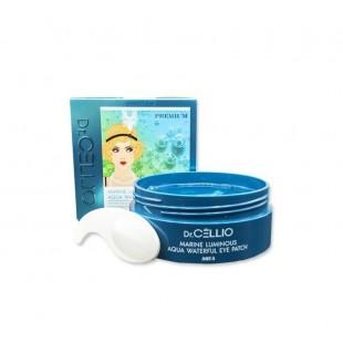 DR.CELLIO Marine Luminous Aqua Waterful Eye Patch/Патчи гидрогелевые с гиалуроновой кислотой 60 шт.
