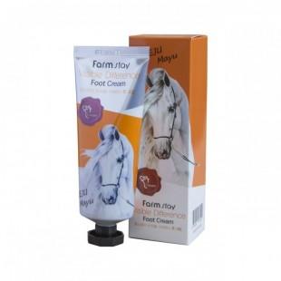FARMSTAY Jeju Mayu Visible Difference Foot Cream/Крем для ног с лошадиным маслом 100 г.