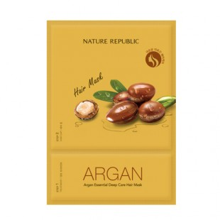 Nature Republic Argan Essential Deep Care Hair Mask/Маска-эссенция для волос 15ml