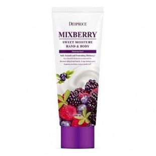 DEOPROCE MIXBERRY Sweet Moisture Hand&Body/Крем для рук и тела с экстрактом ягод 100 мл.