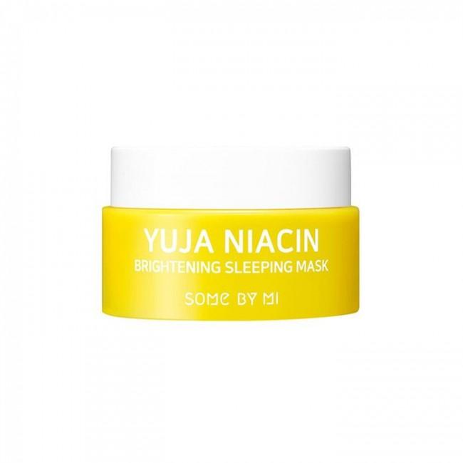 SOME BY MI Yuja Niacin Brightening Sleeping Mask/Ночная маска с юдзу для сияния кожи 15 г.