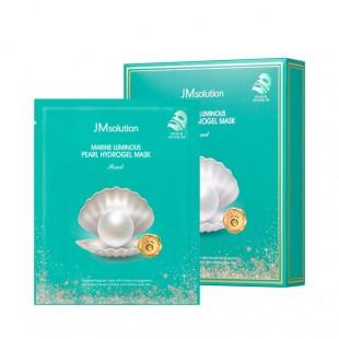 JM SOLUTION Marine Luminous Pearl Hydrogel Mask/Маска гидрогелевая с экстрактом жемчуга 30 г.