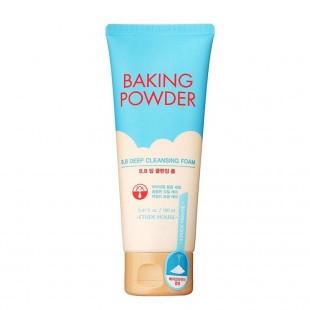 ETUDE HOUSE Baking Powder BB Deep Cleansing Foam /Пенка с содой для глубокого очищения 160 мл.