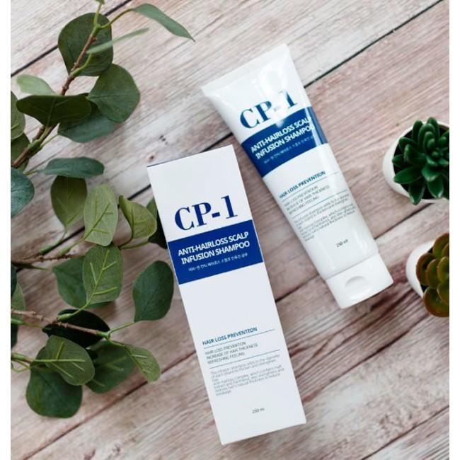 ESTHETIC HOUSE CP-1 Anti-Hair Loss Scalp Infusion Shampoo/Шампунь против выпадения волос 250 мл.