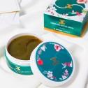 JayJun Green Tea Eye Gel Patches/ Гидрогелевые патчи с лепестками зеленого чая 60шт