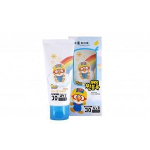 PORORO SUN BLOCK UV SOLUTION SPF30 PA++/Детский солнцезащитный крем  60ML