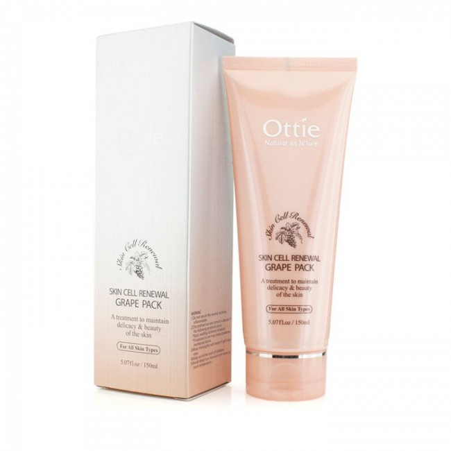 Ottie Skin Cell Renewal Grape Pack 150мл/Обновляющая маска с виноградом