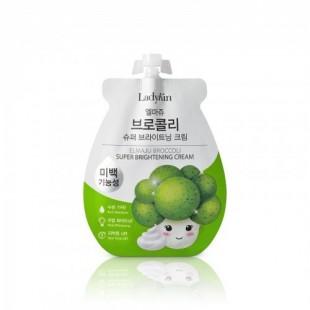 Ladykin Elmaju Broccoli Radiance Power Cream/Питательный крем для лица с 77% экстрактом брокколи  (10 мл)