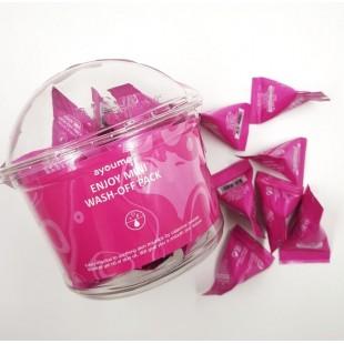 AYOUME Enjoy Mini Wash-Off Pack/ Успокаивающая маска с каламином 3гр