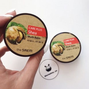 THE SAEM Care Plus Shea Multi Balm/Универсальный бальзам с маслом ши