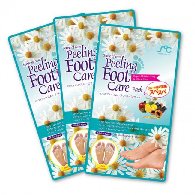 RainBowBeauty Peeling Foot Care Pack /Пилинговые носочки для ног 1 пара