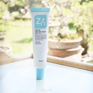 A'Pieu Cicative Zinc Cream/ Крем для лица с цинком успокаивающий 55мл
