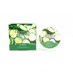 DEOPROCE Natural Skin Cucumber Nourishing Cream/ Питательный крем для лица и тела с экстрактом огурца