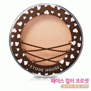 ETUDE HOUSE FACE COLOR CORSET БРОНЗЕР 6G