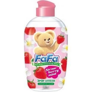 NS FaFa Japan Co  FaFa Series/Средство для мытья посуды с ароматом клубники и мяты