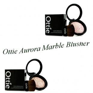 Ottie Aurora Marble Blusher/Запеченные мраморные румяна 8g