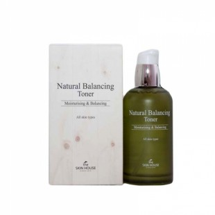 THE SKIN HOUSE NATURAL BALANCING TONER/Балансирующий тоник 130ML