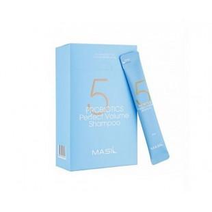 MASIL 5 Probiotics Perfect Volume Shampoo/Шампунь для объема волос с пробиотиками 8 мл.