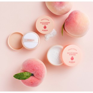 Skin Food   Peach Cotton Finish Powder / рассыпчатая пудра 15 g