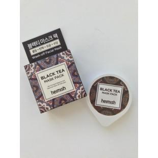 HEIMISH Black Tea Mask Pack/Маска для лица освежающая с экстрактом черного чая 5 мл.