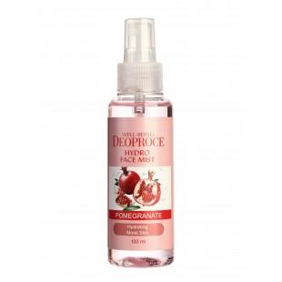 DEOPROCE Well-Being Hydro Face Mist Pomegranate/Мист для лица увлажняющий с гранатом 100 мл.