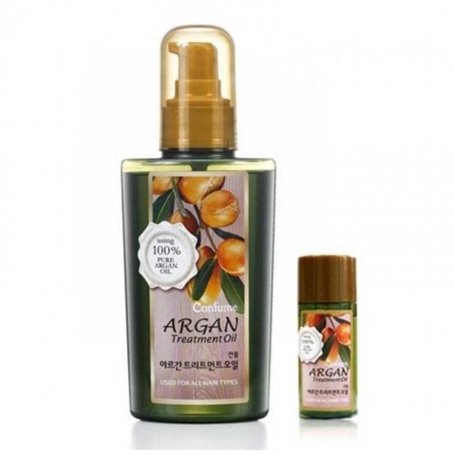 Welcos CONFUME Argan Treatment Oil 120мл+25мл/Аргановое масло для волос и тела