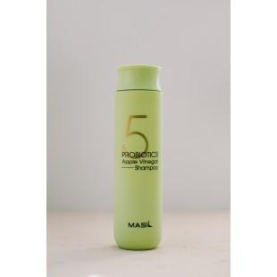 MASIL 5 Probiotics Apple Vinegar Shampoo/Шампунь от перхоти с яблочным уксусом 300 мл.