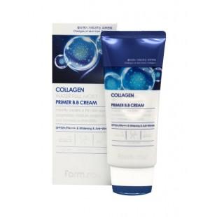 FARMSTAY Collagen Water Full Moist Primer BB Cream SPF50+/PA+++/Увлажняющий ББ-крем с коллагеном 50 мл.
