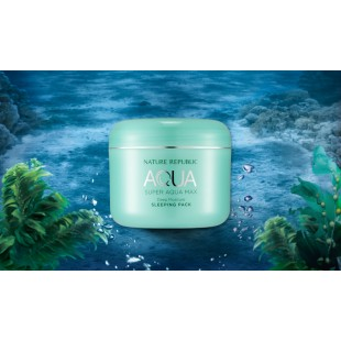 Nature Republic Super Aqua Max Deep Moisture Sleeping Pack/ Маска ночная увлажняющая 100мл