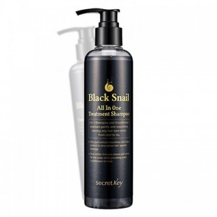 SECRET KEY Black Snail All in One Treatment Shampoo 250 ml