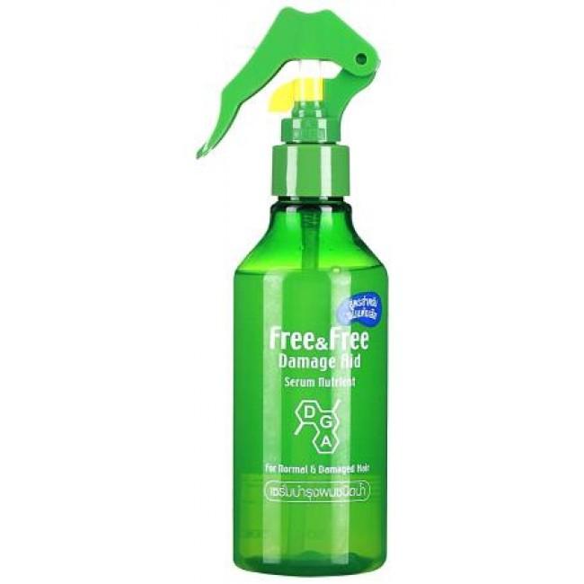 LION Free&Free Damage Aid Serum Hair Treatment Water For Damaged Hair Serum Nutrient/Сыворотка на водной основе против выпадения (для нормальных волос )