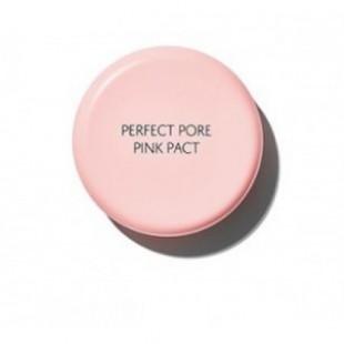 THE SAEM Perfect Pore Pink Pact/Пудра с каламином для чувствительной кожи 11 гр.