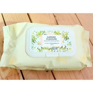 THE SAEM Garden Pleasure Chamomile Cleansing Tissue/Салфетки очищающие с ромашкой 100 шт.