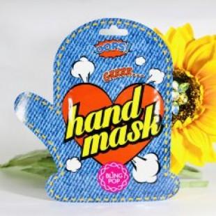 BLING POP Shea Butter Healing Hand Mask/Маска для рук с маслом ши 18 г.